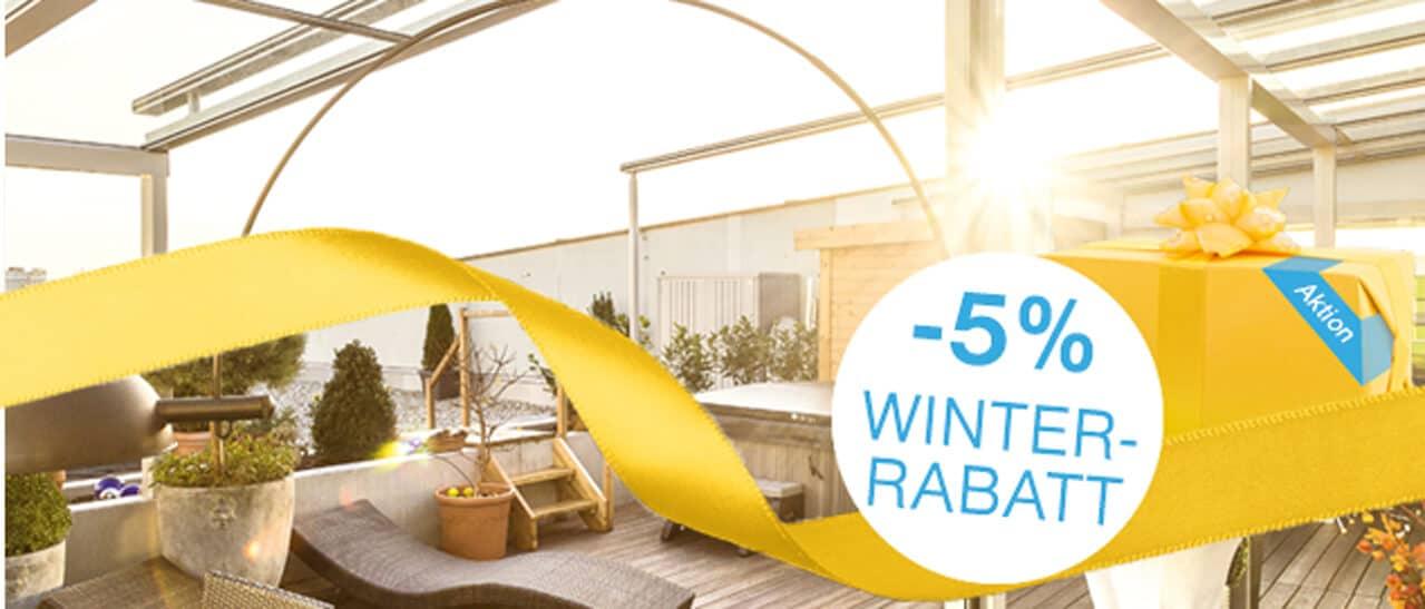 Winteraktion Wintergärten