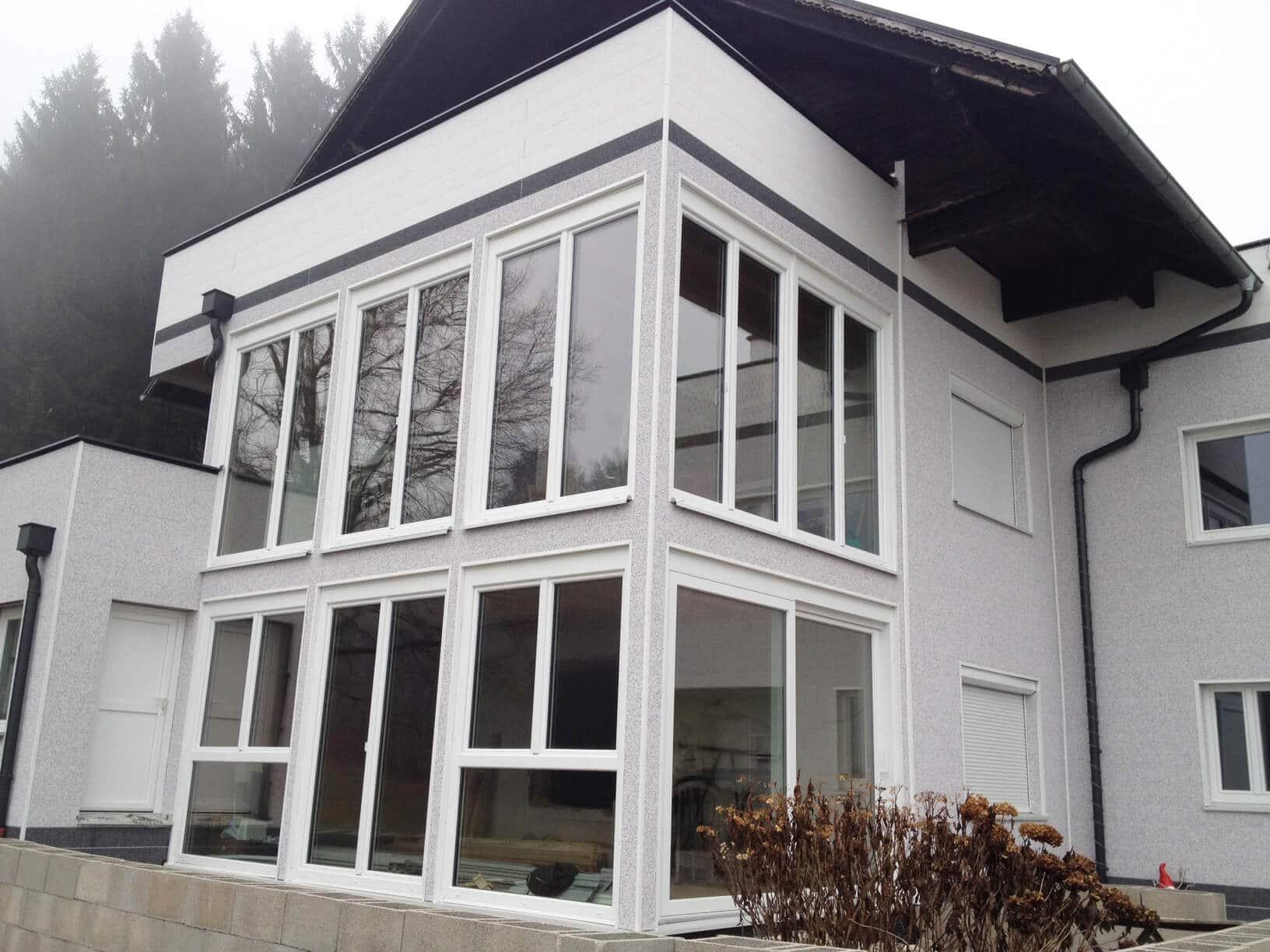 Wohnraumerweiterung durch Wintergarten