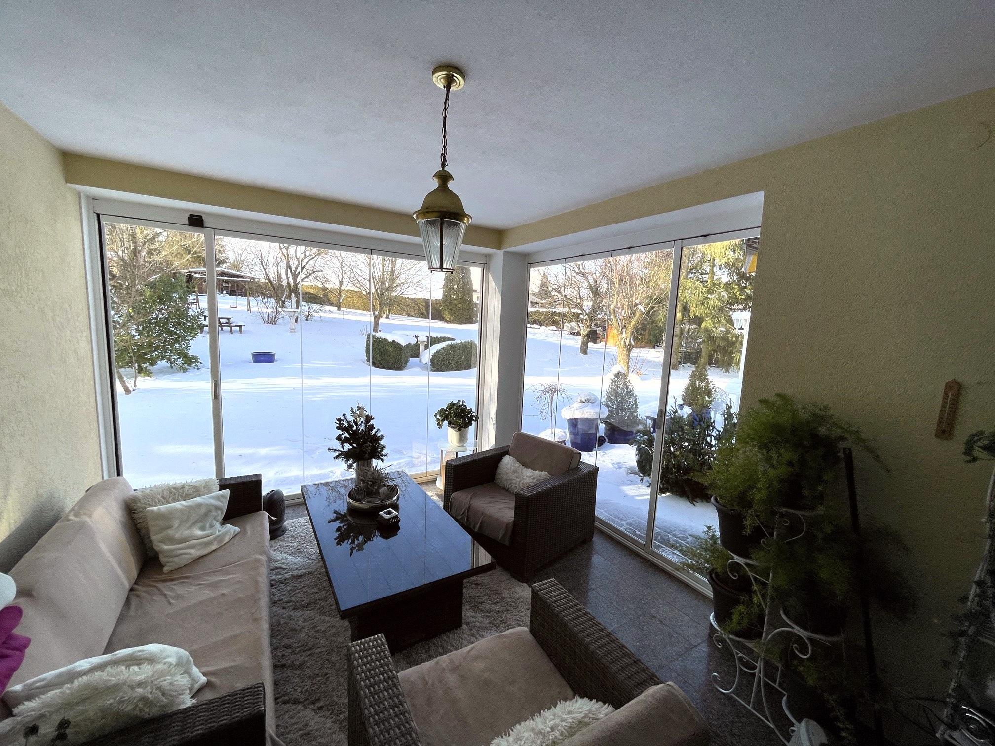 Wohnraumerweiterung Verglasungssysteme Sunflex