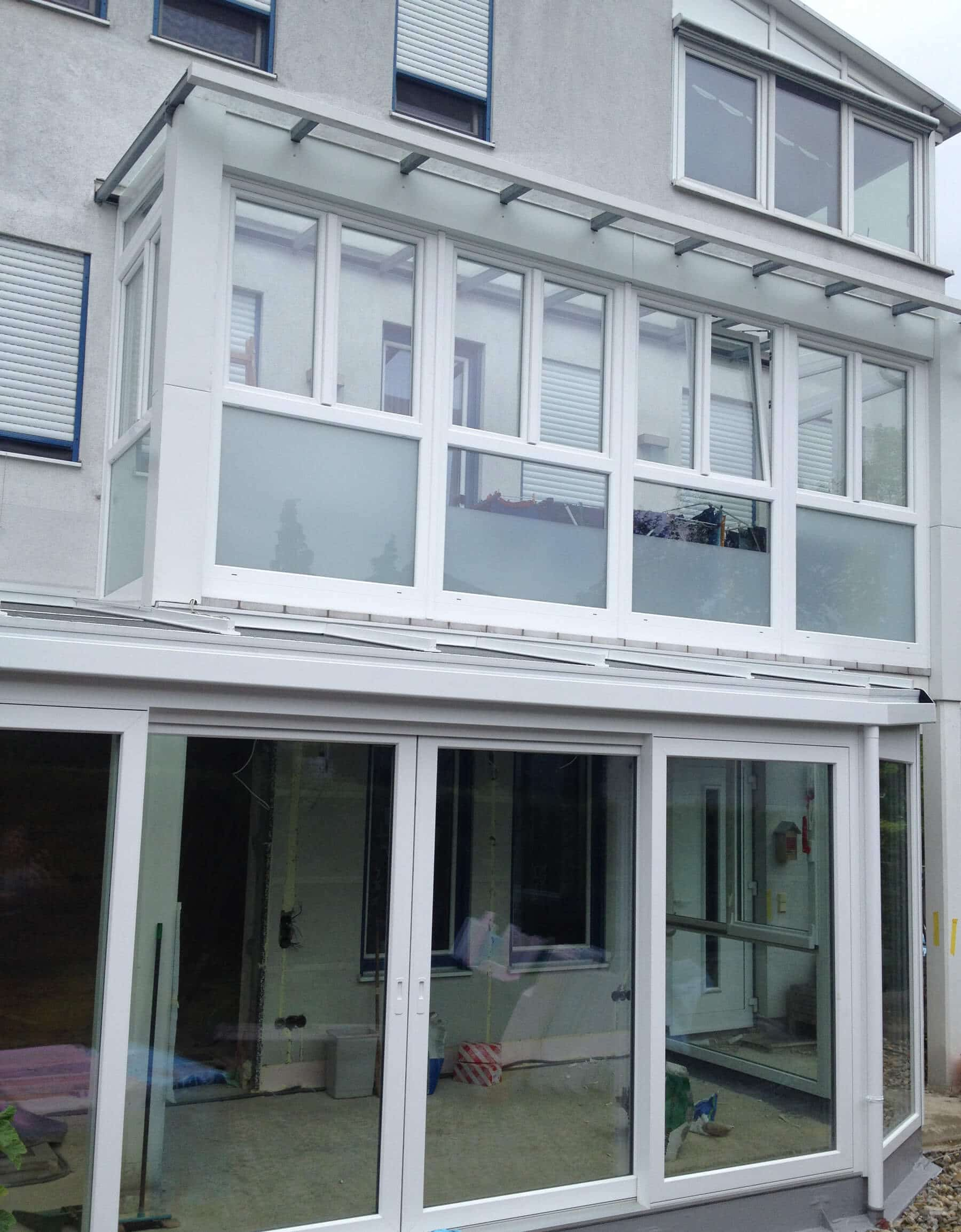 Wohnwintergarten und Balkonverglasung