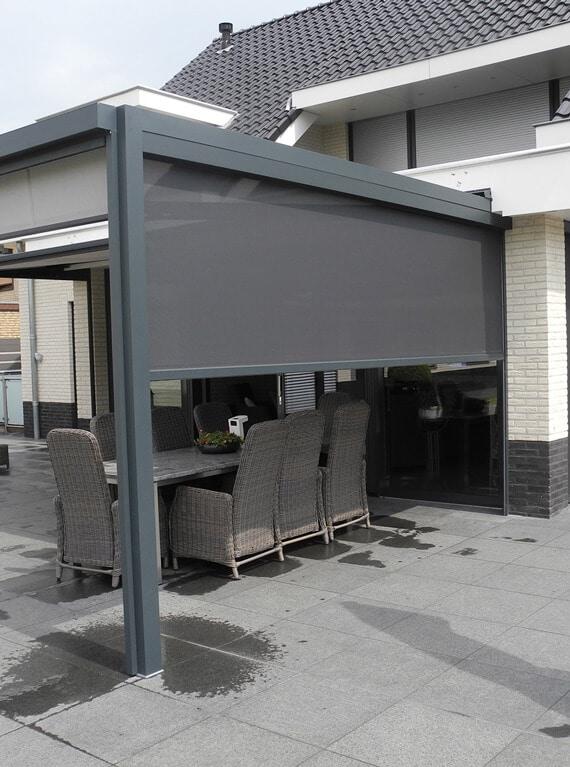 Zip-Anlage Terrassen Sonnenschutz