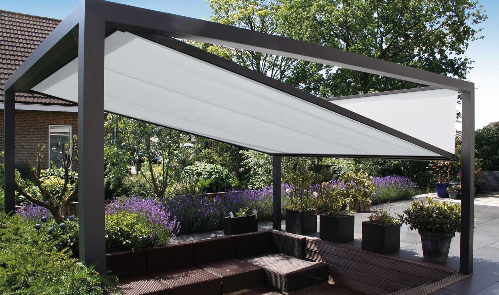 ZIP Beschattungen CUBA Sonnenschutzanlage für Terrassen