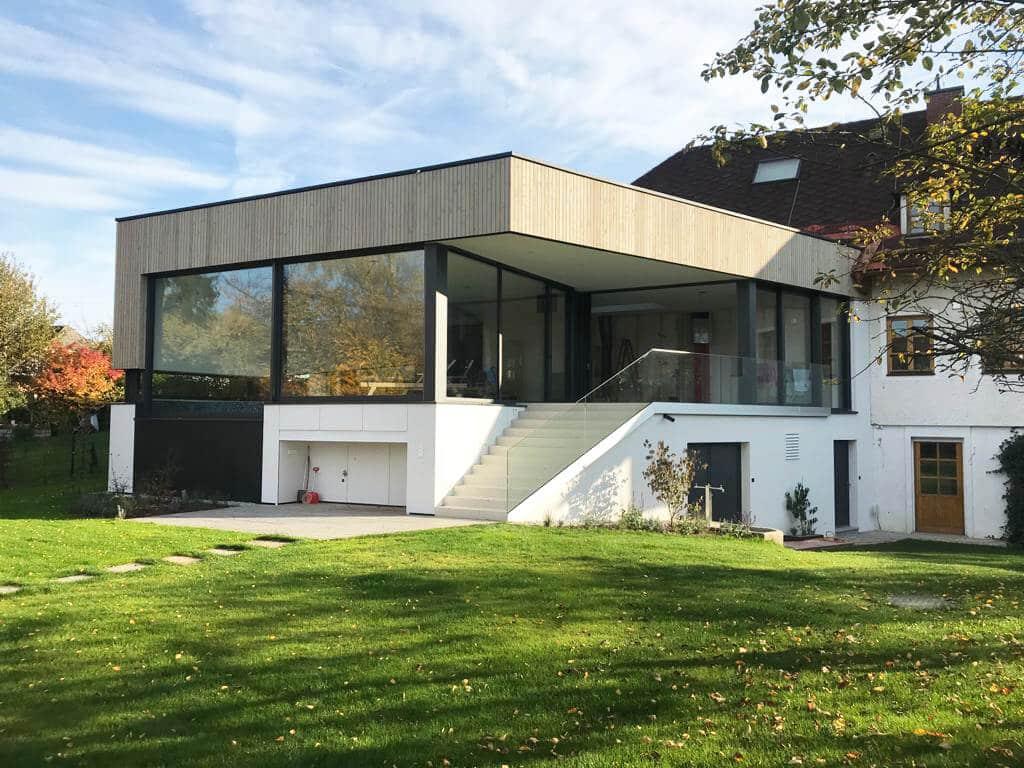 Zubau Poolhaus mit Fenster von Schmidinger